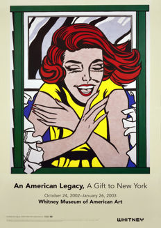 Roy Lichtenstein - Girl in Window