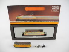 Märklin Z - 8854/a.o. - E-locomotive BR 103 and rail cleaning carriage of the DB [517]