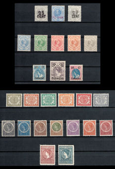 Curaçao 1891/1908 - Selection - NVPH 18 up to and including 43