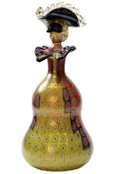 Vetreria Eugenio Ferro 1929 - Murrine gold leaf vase