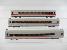 Trix H0 23398/-99/-97 - 3 x middle carriages for IC 3 of the DB [497]