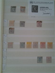 Luxembourg - Collection of stamps and blocks.