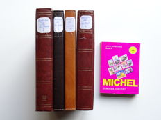 Southern Europe - Collection in four stock books with matching Michel catalogue