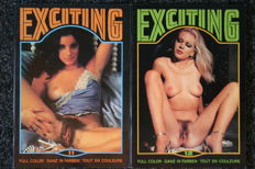 Pornography; Lot with the 2nd series of 10 issues of Exciting (CCC) - 1979/1982