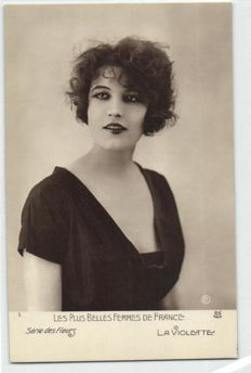 Les Plus Belles Femmes de France 40 x - beautiful ladies / models - around 1920