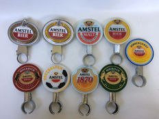 9 tap signs - Amstel - 1970-1990