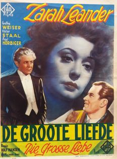 Anonymous - 4x Duitse films in Nederland - 1938-1943