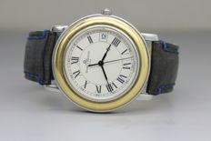 Baume Mercier Fleetwood Two-Tone - Wristwatch with original leather strap - NO RESERVE