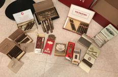 Beautiful lot with boxes of cigars, cigarillos, cigarettes, tobacco and other great accessories!