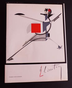 El Lissitzky - Lot with 3 books - 1965 / 1990