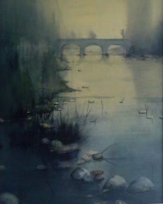 Paco Campos - First Lights on the River