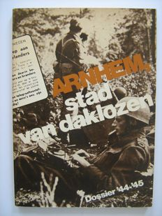 Arnhem; Lot with 7 books about the Battle of Arnhem - 1969/1998