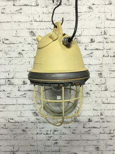 Large Industrial Lamp - 2nd half 20th century (Beige)