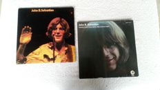 2 very rare albums by John B. Sebastian, featuring Crosby, Stills and Nash. The same album on different lable, a rare limited edition of Deja Vu by CSN&Y on Brown vinyl! and 1 album by Don van.