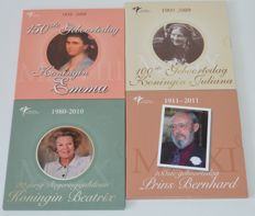 "The Netherlands - year sets 2008-2011, ""Themed sets Royal Dutch Mint"" (four sets in total)"