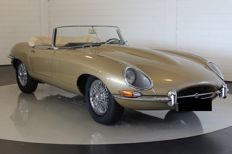 Jaguar - E-type S1 - 1965