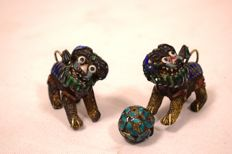 Pair of Foo Dogs - China, early 20th Century