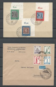 Germany 1945/1955 - Selection of letters and postcards