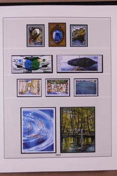 Europa Stamps 2001/2006 - Collection of Lindner Falzlos T-type preprinted album
