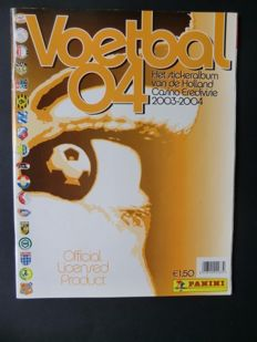 Panini - Voetbal 04 - Complete album - New condition.