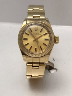 Rolex - oyster perpetual - 6719 - Dames - 1980-1989