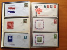 Netherlands 1962/2007 - Collection of mostly Philato FDCs in 2 albums