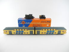 Roco/Schicht - 4153 and others - Shunting locomotive Series 200-300 + 2-piece double deck train of the NS [516]