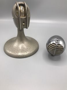 Two microphones - Philips - RCA - of metal
