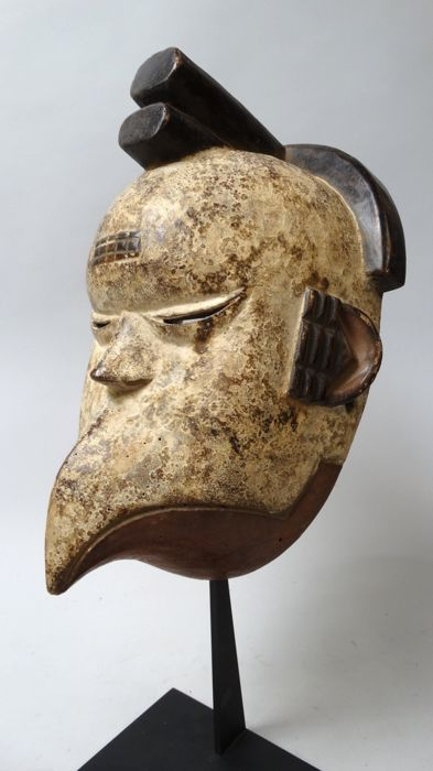 Bird beak mask - Ogoni - Nigeria