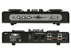 HQPOWER VDSMP33 Double USB/SD player with audio mixer
