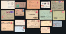 German Empire 1874/1945 - 29 circulated letters