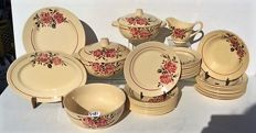 Badonville – France Strasbourg - Tableware set for  12 people - 41 pieces