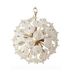 Val Saint Lambert - Sputnik Chandelier / Pendant light
