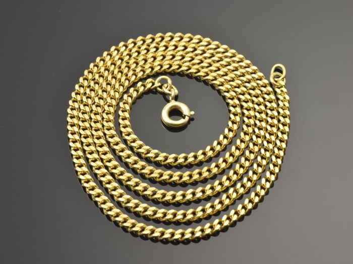 Gold 18 kt Chain. Length 50 cm ***No reserve price***