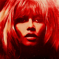 Felix von Altersheim - Brigitte Bardot - Bloody RED - Pop Art PUR