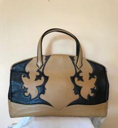Etro - Embroidered leather bag
