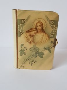 Prayer booklet made of ivory and paper - Prayer booklet - 1899