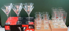 Collection of original Martini Glasses 36 x