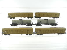 Roco H0 - 46232/and others - 6-piece freight train of the DB/DR with VTG tanker [491]