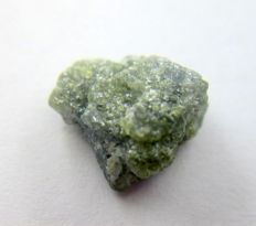 Raw Uncut Natural Green Gray Rough Diamond  Unheated / Untreated - 11.80 x 11.44 x 7.52 mm – 7.72 ct