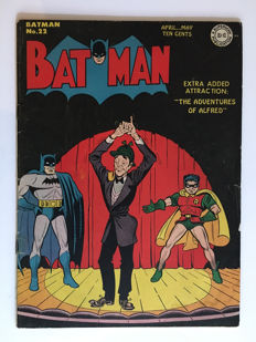 DC Comics - Batman #22 - VG/VG+ - Very Rare Golden Age book - 1x sc - (1944)