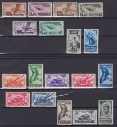 Italy, Colonies - selection of 140 stamps