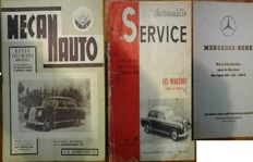 Mercedes-Benz - Service manuals