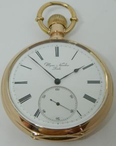 Ulysse Nardin - glorious chronometer pocket watch - circa 1900