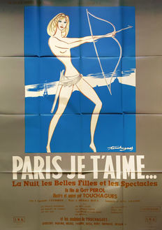 Louis Touchagues - Paris je t'aime - 1962