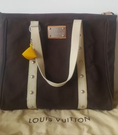 Louis Vuitton - Antigua GM LV Cup Brown canvas Cabas Tote bag - Limited edition America's cup