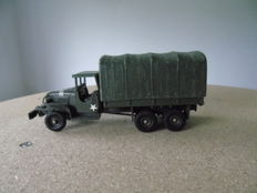 Dinky Toys-France - Scale 1/48 - Truck GMC US Troop transporter No.809