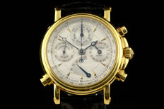 PAUL PICOT Atelier Technicum - 18k gold chronometer rattrapate