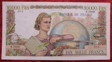 France - 10.000  Francs 1-12-1955 - Pick 132d - Fayette 50.77