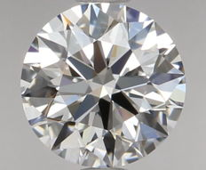 0.50ct Round Brilliant Diamond D IF IGI 3EX - SEALED - Serial# 626-Original images